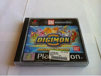 PS/PSone: Digital Digimon Monsters: Digital World (OBS Tysk)