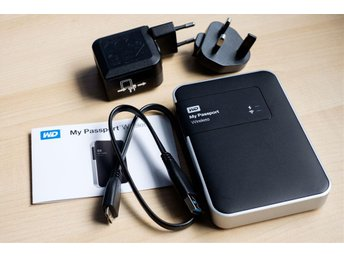 Western Digital My Passport Wireless 500GB - WiFi + USB 3.0
