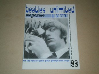 Beatles Unlimited #93 (November / December 1990) - Fint Skick!