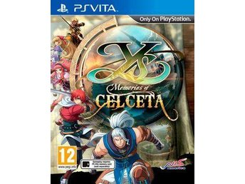Ys: Memories of Celceta till PS Vita - Skövde - Ys: Memories of Celceta till PS Vita - Skövde