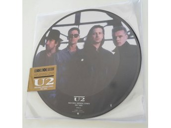 "U2: Red Hill Mining Town 2017 Mix. Record Store Day Exclusive, 12"" picture disc"