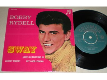 Bobby Rydell EP/PS Sway 1961