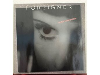 LP. FOREIGNER - INSIDE INFORMATION.
