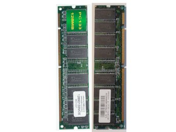 SDRAM PC133 128MB MOS 168-pin