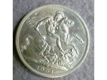 England 5 Shilling / 1 Crown  1951