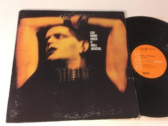 LOU REED rock n roll animal LP -74 US RCA APL1 0472