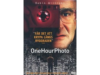 ONE HOUR PHOTO (2001) - Robin Williams, Connie Nielsen - DVD - OOP