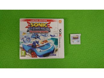 Sonic All-Stars Racing Transformed LIMITED EDITION Nintendo 3DS