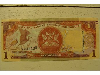 Trynidad and Tobago 1 Dollar 2006 sedel