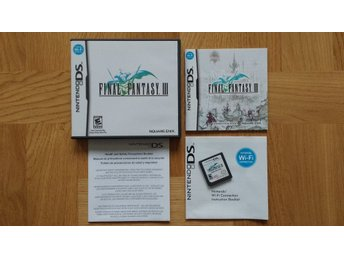 Nintendo DS: Final Fantasy III 3