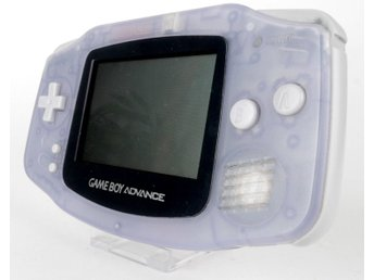 Game Boy Advance Console (Glacier / Clear Blue) -
