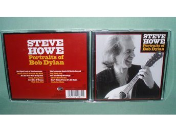 STEVE HOWE - Portraits of Bob Dylan , CD ,