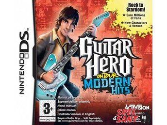 Guitar Hero On Tour Modern Hits (inkl. Guitar Grip) - Norrtälje - Guitar Hero On Tour Modern Hits (inkl. Guitar Grip) - Norrtälje