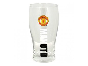 Manchester United Ölglas Pint Wordmark 4-pack