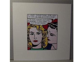 Roy Lichtenstein – EDDIE DIPTYCH 1962 - Huddinge - Roy Lichtenstein – EDDIE DIPTYCH 1962 - Huddinge