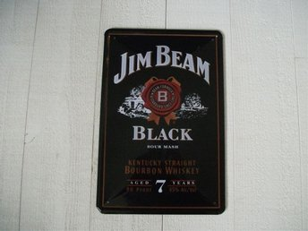 whiskey. whisky, jim beam, plåtskylt, bar, restaurang - Jönköping - whiskey. whisky, jim beam, plåtskylt, bar, restaurang - Jönköping