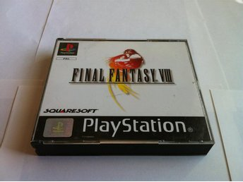 PS/PSone: Final Fantasy VIII (8) (OBS Tysk)
