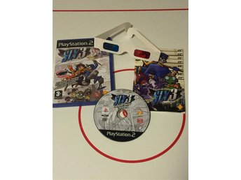 Playstation 2 PS2 Sly 3 CIB med 3D glasögon (sällsynt)
