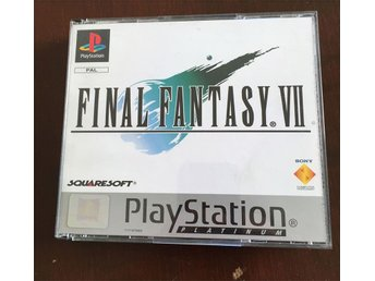 Final Fantasy 7 Platinum PAL - PS1