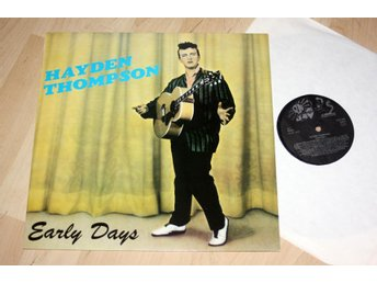 HAYDEN THOMPSON Early Days  Rock a billy 1950's  M- Lp