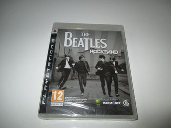 Nytt, oöppnat Rock Band Beatles till Playstation 3 (PS3)