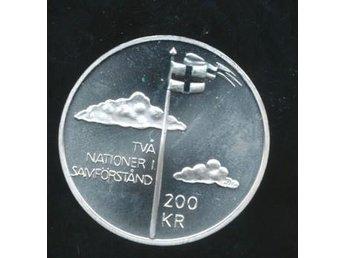 2005 M 200 kronor Stämpelglans Norge - Västra Frölunda - 2005 M 200 kronor Stämpelglans Norge - Västra Frölunda