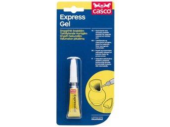 Express Gel, Droppfritt Snabblim Lim 3gram (Casco 2988, Sika Brand) Ny - Hässleholm - Express Gel, Droppfritt Snabblim Lim 3gram (Casco 2988, Sika Brand) Ny - Hässleholm