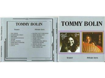 TOMMY BOLIN TEASER/ PRIVATE EYES (CD 1975/76) DEEP PURPLE - Minsk - TOMMY BOLIN TEASER/ PRIVATE EYES (CD 1975/76) DEEP PURPLE - Minsk