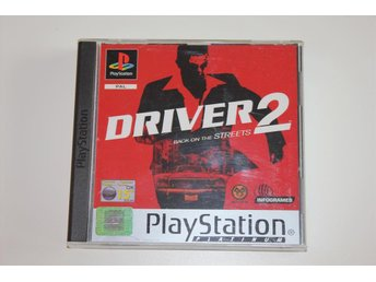 Driver 2 Back on the Streets - Playstation 1 / PS1 spel