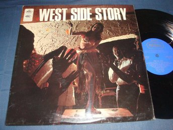 WEST SIDE STORY LP 1966