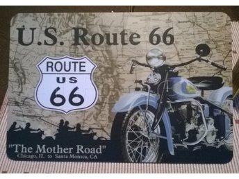 Route 66, HD, Harley Davidsson, The Mother Road - Mönsterås - Route 66, HD, Harley Davidsson, The Mother Road - Mönsterås