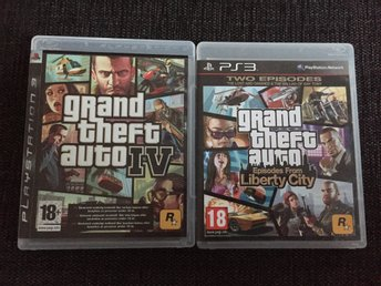 "grand theft auto IV & grand theft auto ""Episodes From Liberty City"
