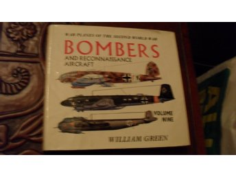 BOMBERS AND RECONNAISSANCE AIRCRAFT VOLUME NINE  WILLIAM GREEN   MACDONALD