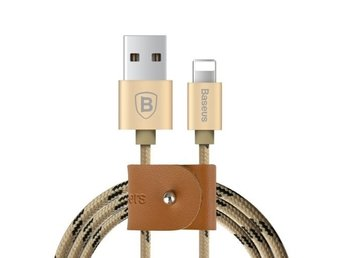 Baseus Flätad Lightning USB-kabel till Apple 1.5m