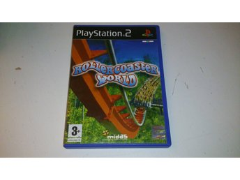 - Rollercoaster World PAL PS2 -