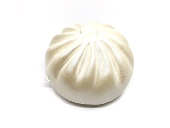 Original abest jumbo steam bun squishy white colour soft slow rising toys scent