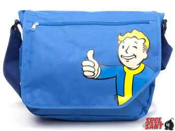 Fallout 4 Vault Boy Messenger Bag Blå