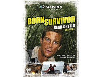 Born Survivor - Bear Grylls - Säsong 4 - Discovery Channel - DVD Box