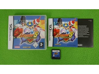 Megaman Battle Network 5 Double Team Nintendo DS