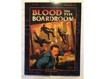 Blood in the Boardroom - Shadowrun 3rd edition