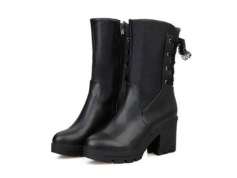 Dam Boots Sexy Footwear Heels Shoes Size 34-41 Black 39