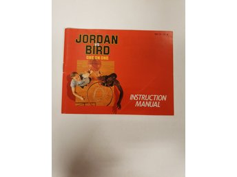 Jordan VS Bird One on One - Manual NES NINTENDO - USA