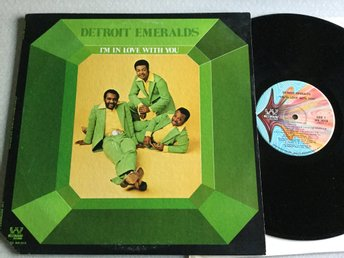 Lp Detroit Emeralds-I'm in love with you US org på Westbound
