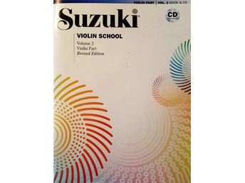 Suzuki violin school volume 2, revised edition inkl. CD