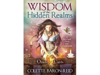 Wisdom of the Hidden Realms Oracle Cards - NY INPLASTAD. Tarot New Age.