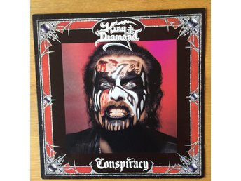 King Diamond - Conspiracy, Mercyful fate, Ghost, Hellhammer, vinyl, hårdrock