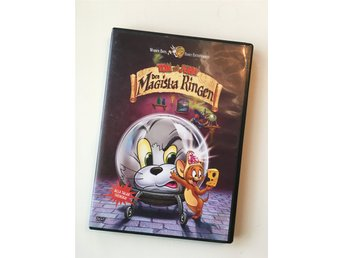 "*Mkt Fin* DVD Film TOM & JERRY ""Den Magiska Ringen"" Warner Bros"