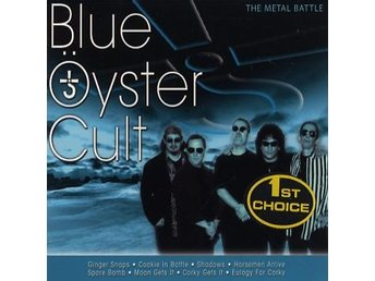 Blue Öyster Cult: The metal battle (Re-record.) (CD)