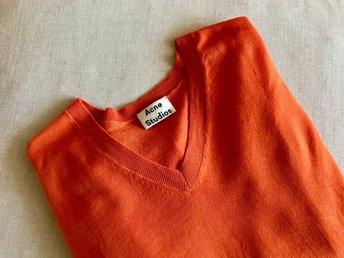 Acne Studios Stickad tröja i merinoull