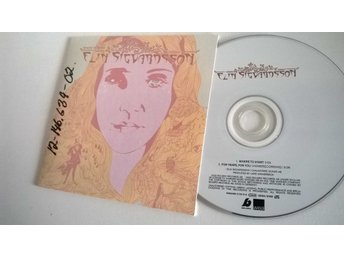 Elin Sigvardsson - Where to start / For years, for you, CD
